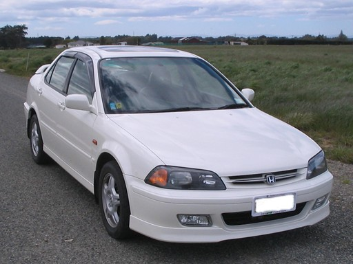 One of my current cars a 1999 Honda Torneo SiR. Taken parked up at the Ascot Heights Development in November 2008.